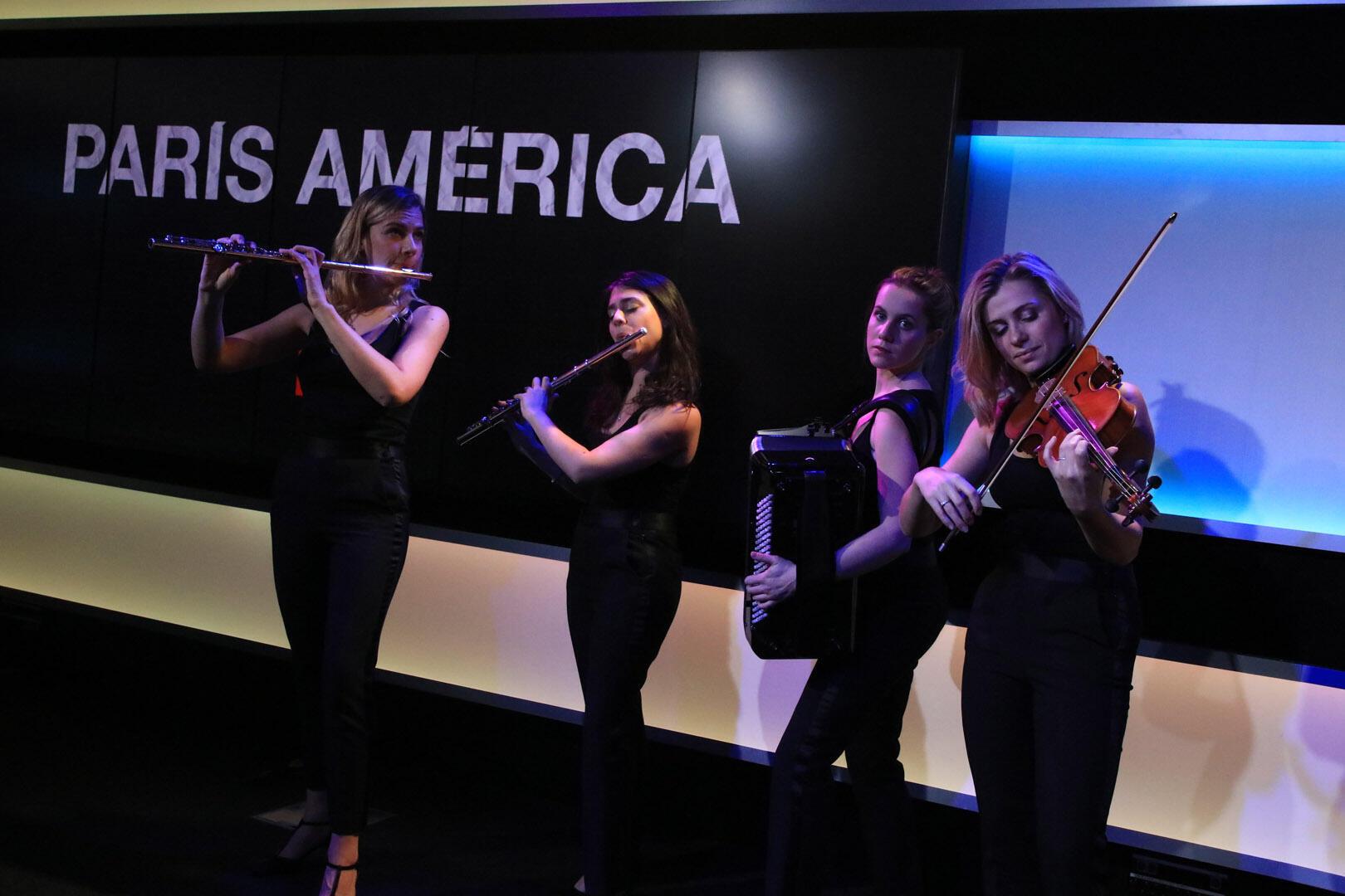 En el Estudio 1 de RFI, el cuarteto D'Cybèles y su espectáculo Oum Pa Pa !