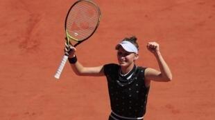 Marketa Vondrousova is playing in her third French Open.