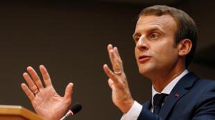 法国总统马克龙将出席法兰克福书展开幕式