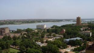 Vue de Bamako, capitale du Mali.