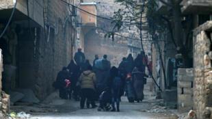Эвакуация мирных жителей из Алеппо, 13 декабря 2016 года