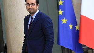 France's Digital Minister Mounir Mahjoubi