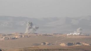 Израильская авиация произвела обстрел позиций сирийской армии в районе города Масиаф, в провинции Хама.