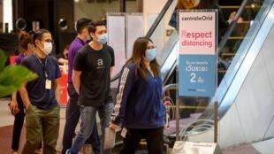 Jusqu'à ce dimanche 17 mai 2020, les centres commerciaux à Bangkok étaient partiellement fermés pour lutter contre l'épidémie de coronavirus.