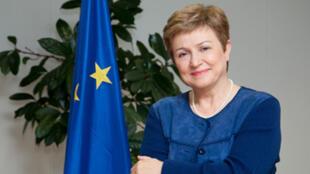 Еврокомиссар по гуманитарным вопроса Кристалина Георгиева