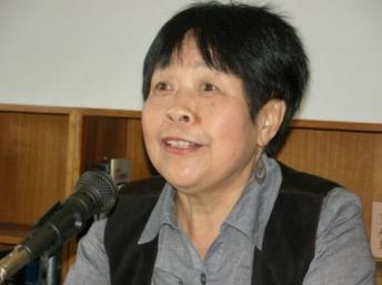 中國著名異議作家和記者戴晴。