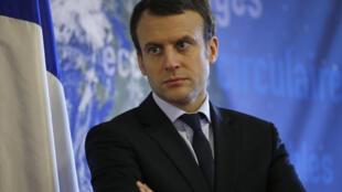 Emmanuel Macron, ministre de l'économie français.