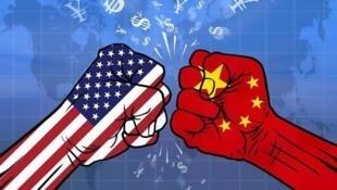 中美貿易戰網絡示意圖