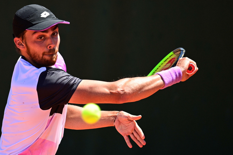 Benjamin Bonzi lors des internationaux de France à Roland Garros, le 1er juin 2021