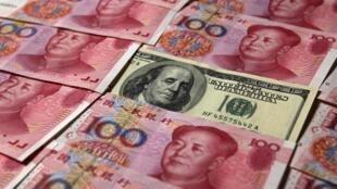 Sức mạnh đồng tiền Trung Quốc.