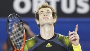 El tenista Andy Murray.