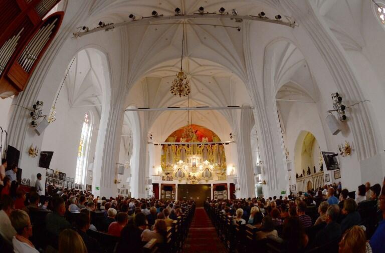 Органный концерт в Кафедральном соборе Калининграда