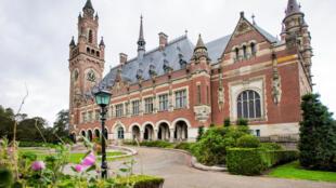 Tòa Công lý Quốc tế ở La Haye. Ảnh chụp ngày 27/8/2018.