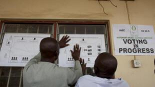 Selon la presse nigeriane, un vote peut être acheté à partir de 3000 nairas, moins de 10 dollars.