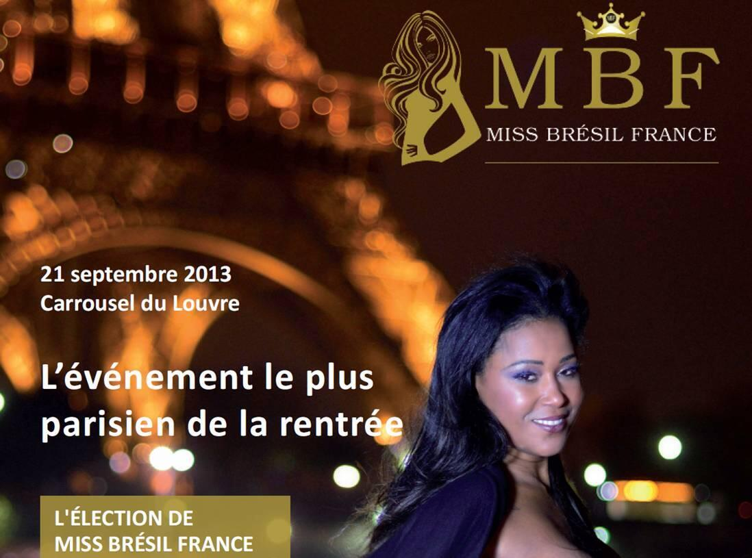 Doze finalistas disputarão o título de Miss France Brésil em setembro, no Carrosel do Louvre, em Paris.