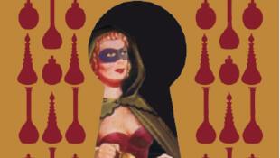 "Cartaz do evento promovido no Palácio de Versalhes, ""tesouros escondidos""- O caso dos venenos."