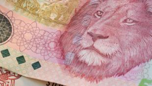 Des billets de rands, monnaie sud-africaine