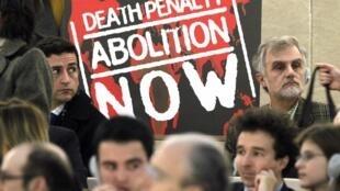 """""""Abolición de la pena de muerte AHORA""""."""