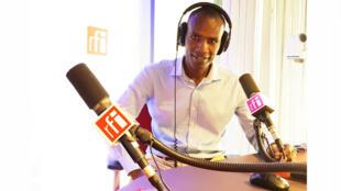 Le Tchadien Abdelkerim Yacoub Koundougoumi est le chef de division Afrique centrale d'Internet sans frontières.