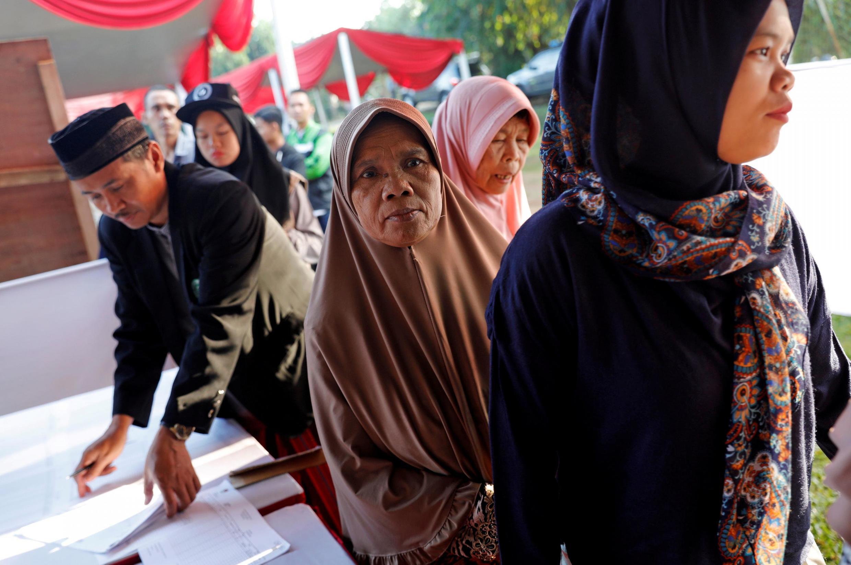 印度尼西亞舉行總統選舉及國會和各級地方議會選舉投票  2019年4月17日