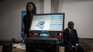 Mashine ya kupigia kura itakayotumika katika uchaguzi wa Desemba 23 nchini DRC