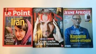 Capas das revistas francesas desta semana