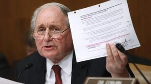 Senate committee chairman Carl Levin
