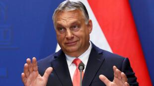 Le Premier ministre hongrois Viktor Orban à Budapest, le 12 juin 2020.