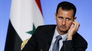 Shugaban kasar Syria Bashar Assad.