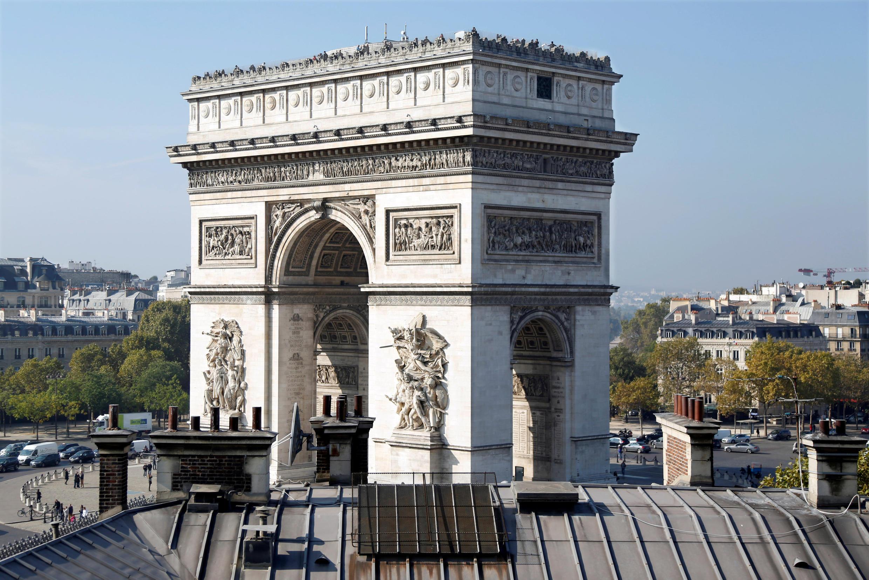 The Arc de Triomphe in Paris lost 26 percent of its visitors in 2016