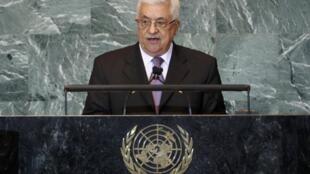 Mahmoud Abbas, le président de l'Autorité palestinienne, est déterminé à obtenir un statut d'Etat à l'ONU pour la Palestine.