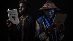 Le groupe sénégalais Daara J Family.