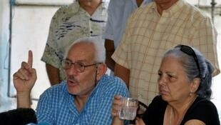 O dissidente cubano Guilhermo Farinas