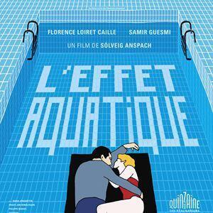 L'Affiche du film «L'Effet aquatique» de Solveig Anspach.