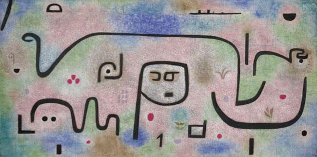 Paul Klee, Insula dulcamara, 1938