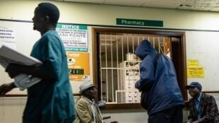 Wagonjwa katika hospitali ya Parirenyatwa Harare, Zimbabwe September 9, 2019