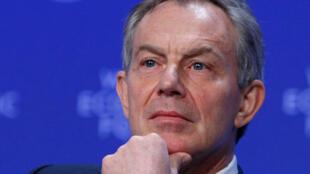 L'ancien Premier ministre britannique, Tony Blair.