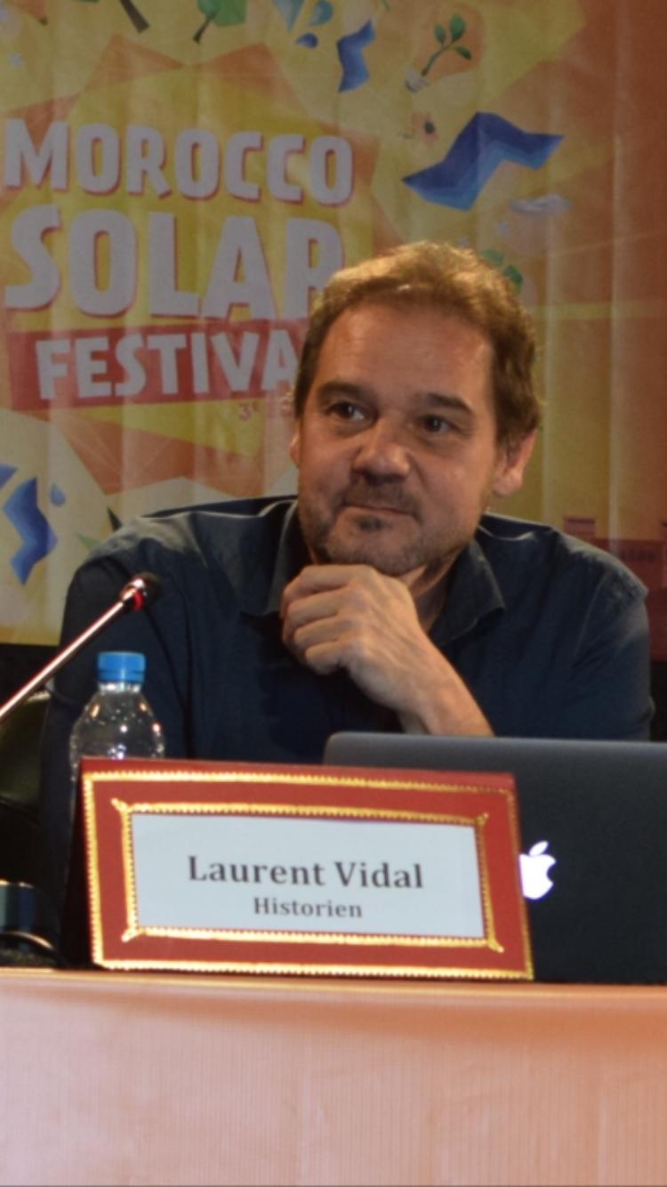 O historiador Laurent Vidal.