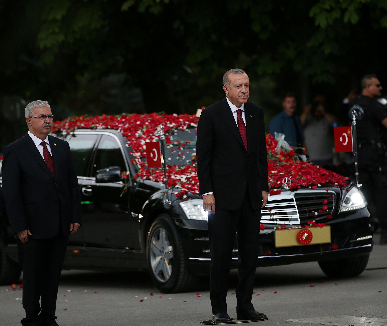 مراسم سوگند اردوغان