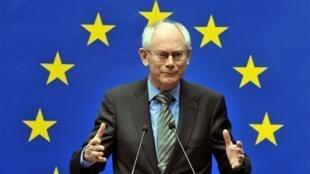 លោកHerman Van Rompuy ប្រធាននៃសហភាពអឺរ៉ុប