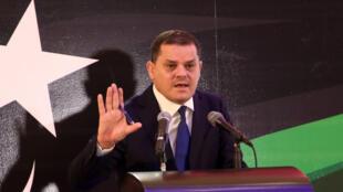 Libya's prime minister-designate Abdul Hamid Dbeibah
