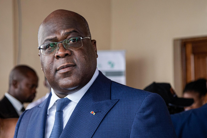 Le président congolais Félix Tshisékédi à Bukavu, le 8 octobre 2019.