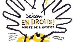 """""""En droits"""" se presenta en el Museo del Hombre de París."""