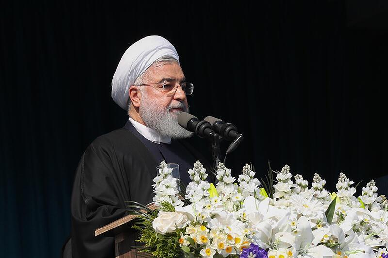حسن روحانی-رییسجمهوری اسلامی ایران-روز یازدهم اردیبهشت در کرمانشاه