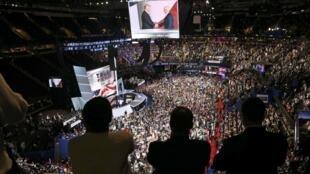 La convention du parti républicain a été marquée par l'investiture officielle de Donald Trump par son parti et celle de son colistier Mike Pence, ainsi que l'adoption du programme officiel du parti.