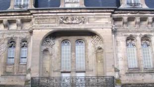 L'entrée du château de Villers-Cotterêts qui accueillera en 2022 la Cité internationale de la langue française et de la francophonie.