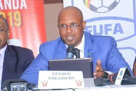 Rais mpya wa Cecafa, Wallace Karia akizungumza baada ya kuchaguliwa kuwa rais wa Cecafa 18 Disemba 2019
