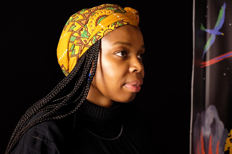 Karabo Lediga, la réalisatrice sud-africaine présenté « What Did You Dream ? » au Festival international du court métrage de Clermont-Ferrand.