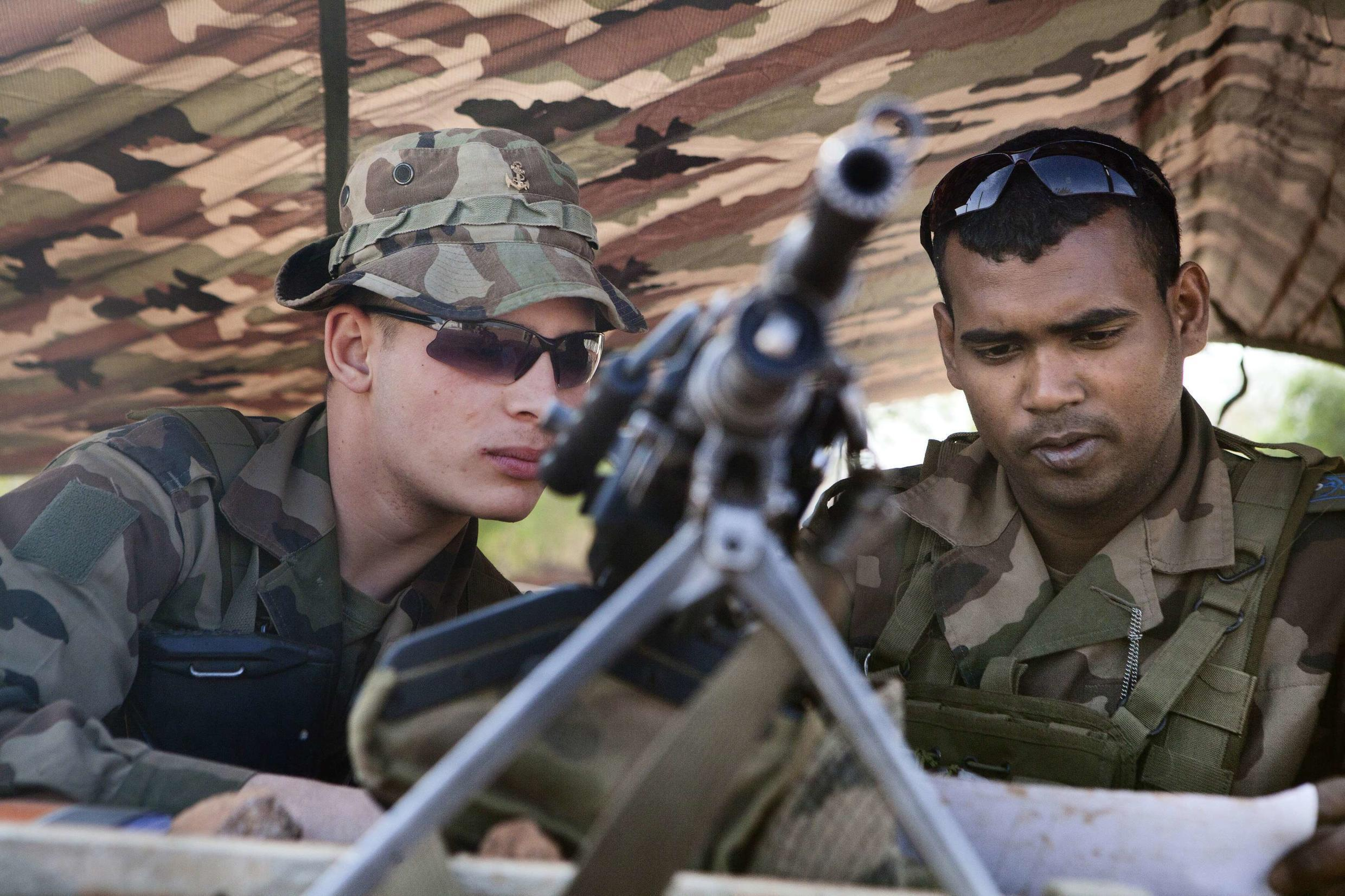 The French Prime Minister says French and Malian forces are making inroads in northern Mali.