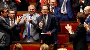 Gilles Le Gendre à l'Assemblée nationale, à Paris, le 18 septembre 2018.
